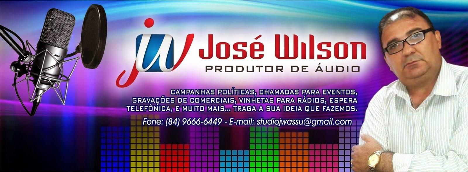 José Wilson Produtor de Áudio