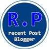 12 Widget Recent Post For Blogspot Blogger