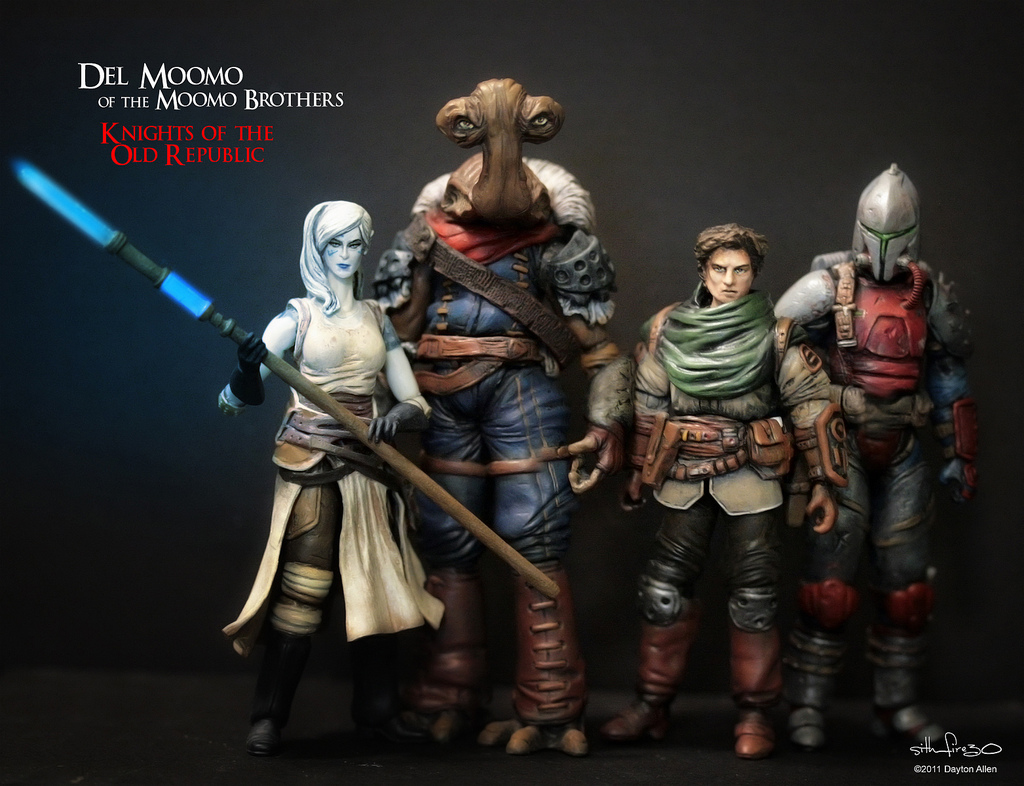 Knights Of The Old Republic Toys 90