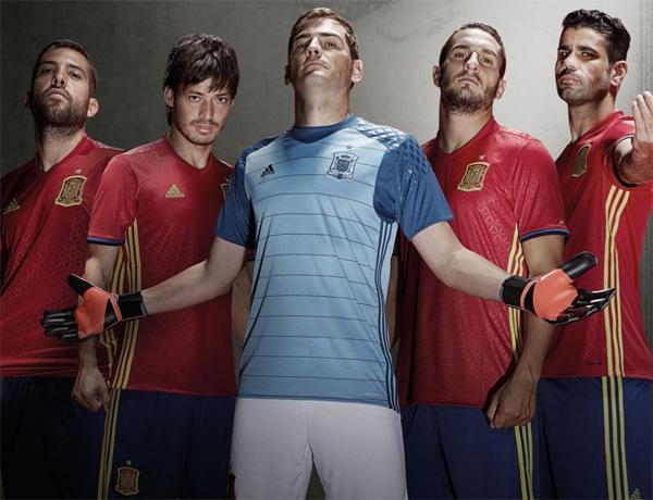 adidas nueva equipación selección española Euro 2016
