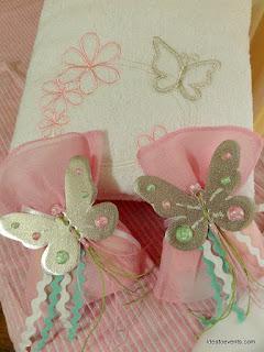 πεταλούδα, ζωγραφική, butterfly, μπομπονιέρα