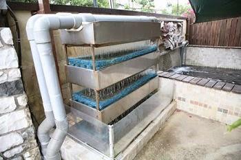 filter kolam ikan koi buatan sendiri - ikan hias air tawar