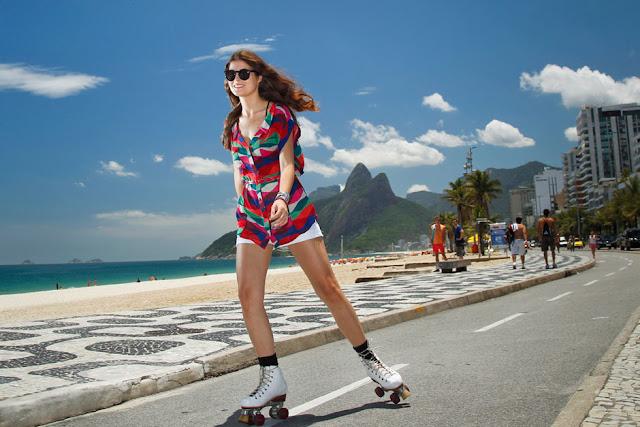 Fotografia, Rio de Janeiro, profissional, o globo, calcadao, ipanema, patins, esportes, mulher