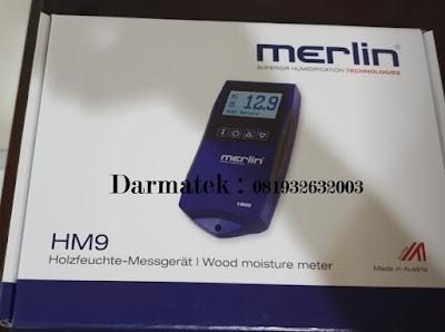 Jual Merlin Moisture Meter HM9 WS25 HD for Cutting Teranyar