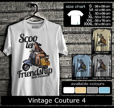 kaos distro vintage couture 4