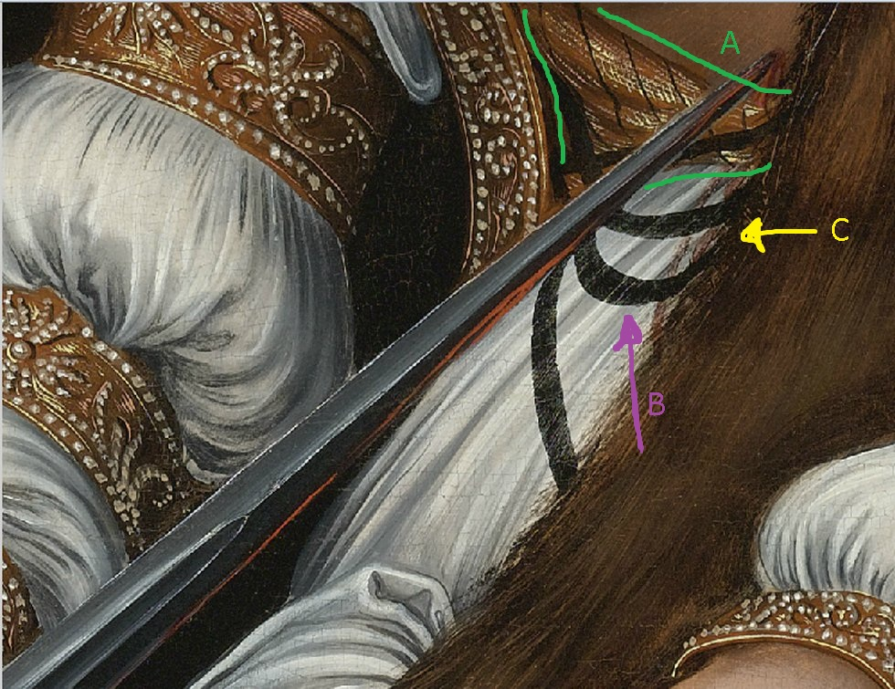 Ant\'s project space: Cranach gown brustflect construction - an analysis