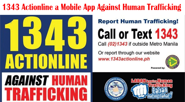 1343 Actionline a Useful Mobile App Against Human Trafficking Launched