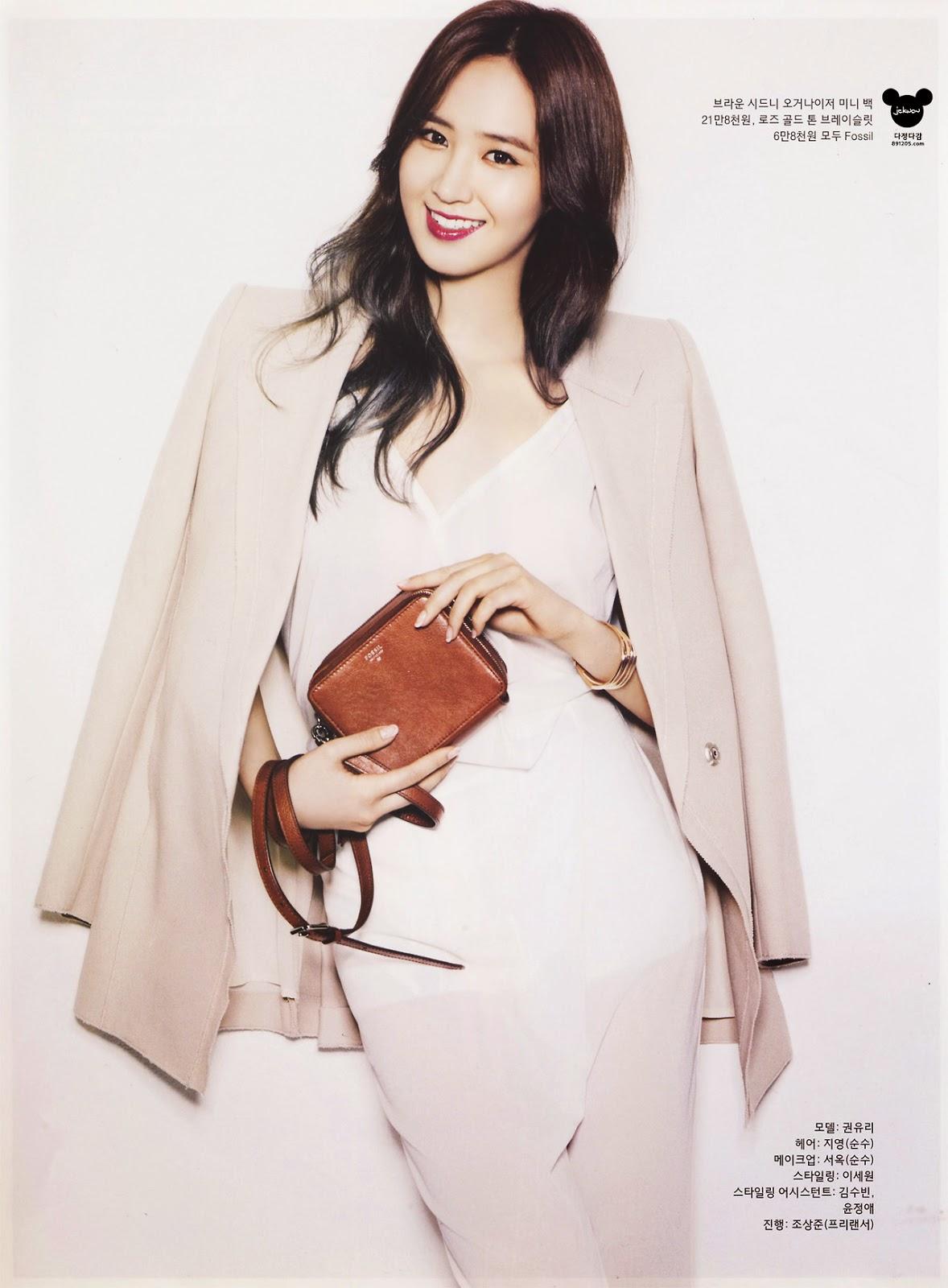 Yuri - InStyle Magazine May Issue 2014
