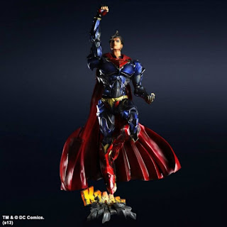Square Enix Play Arts Kai DC Variants Superman Figure