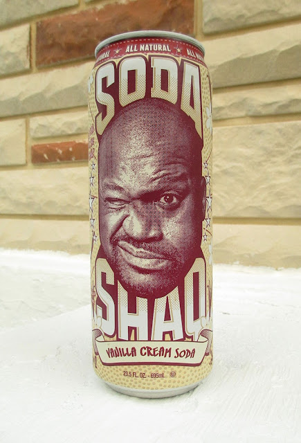 Soda Shaq Vanilla Cream Soda