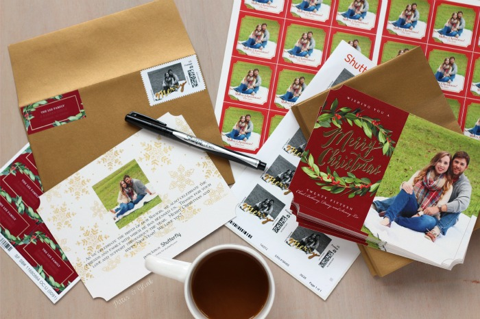 Put together a personalized photo holiday card stationery set at Shutterfly.com. www.pitterandglink.com