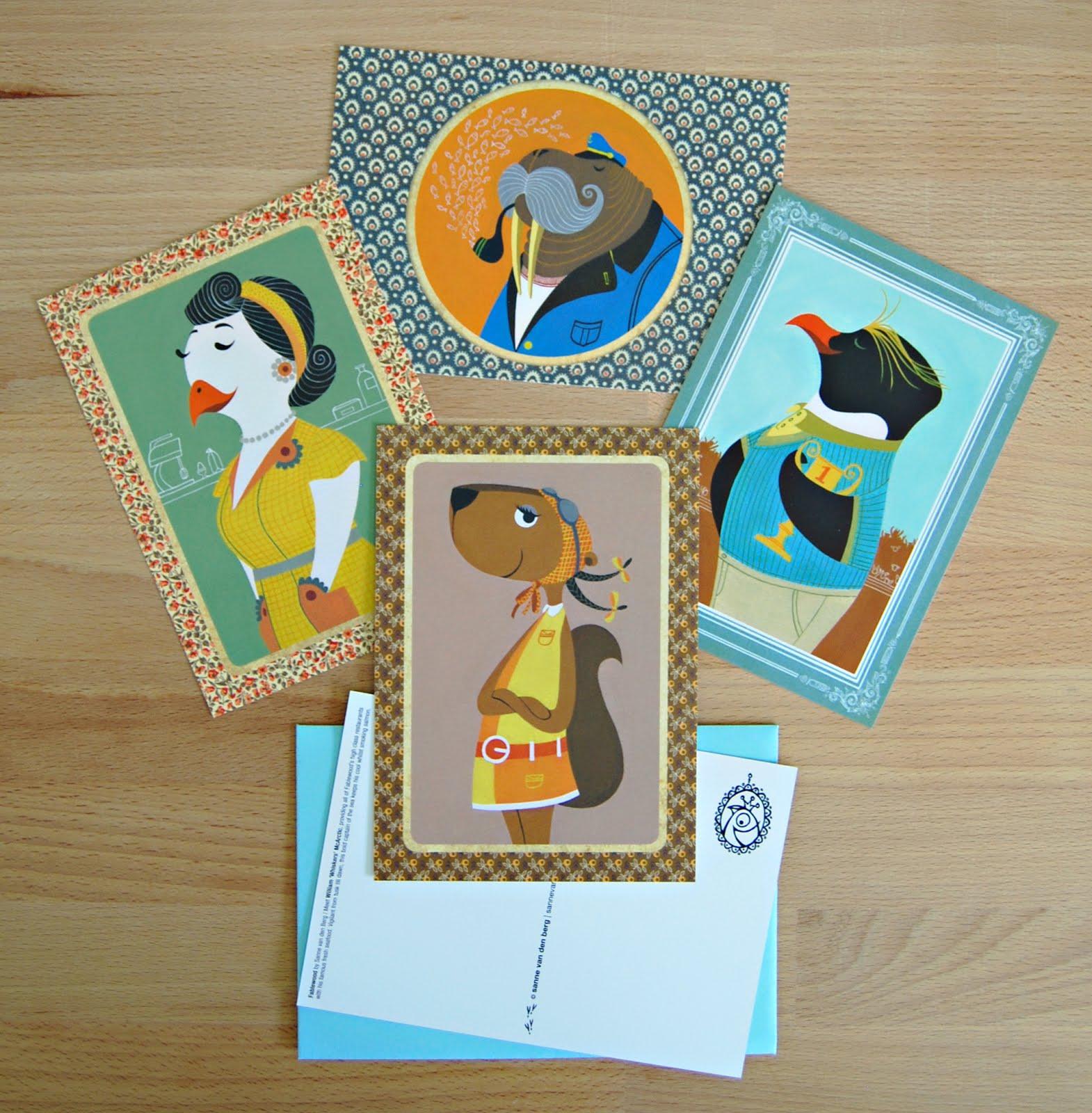 FABLEWOOD kaartenserie