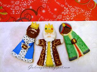 Galletas decoradas Reyes magos