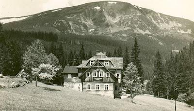 Historická fotka Chaty pod Studničnou