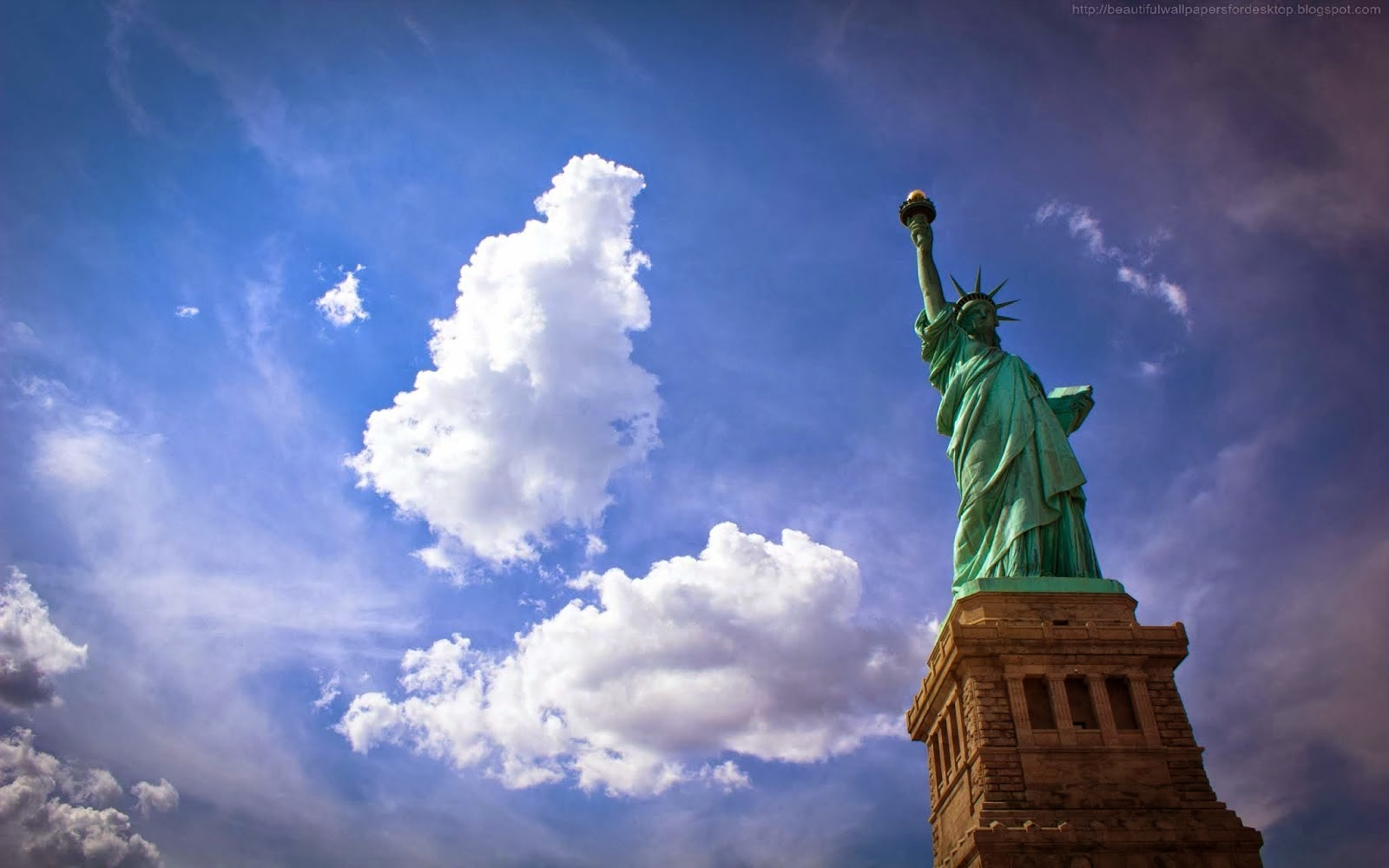 beautiful wallpapers statue of liberty wallpapers hd