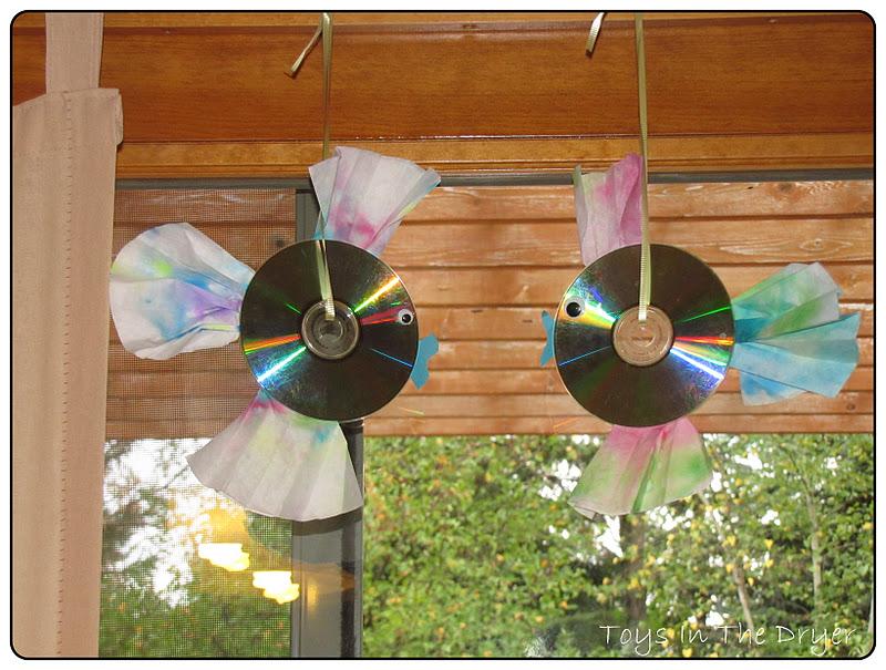 Поделки из дисков своими руками на даче