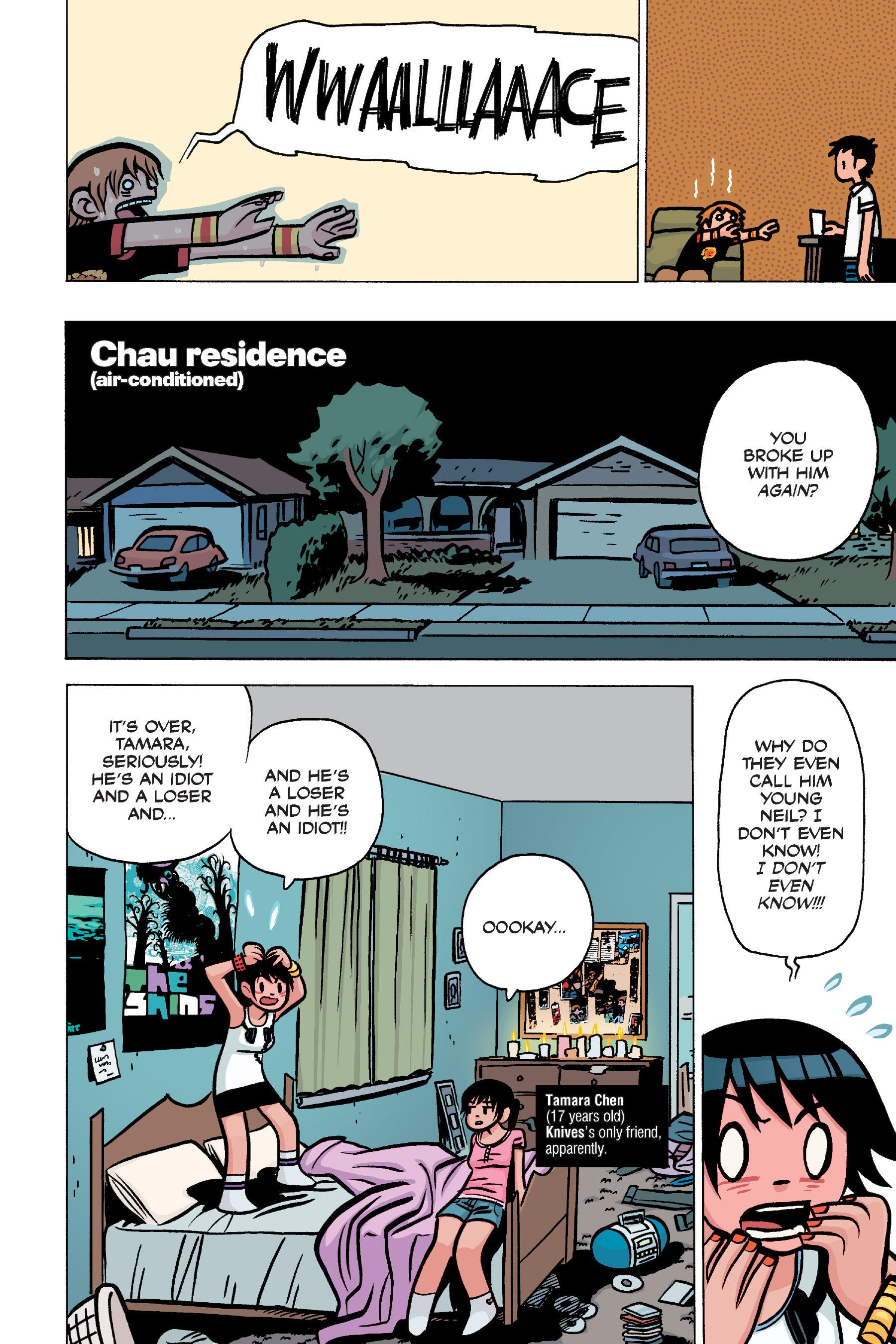 Read online Scott Pilgrim comic -  Issue #4 - 42