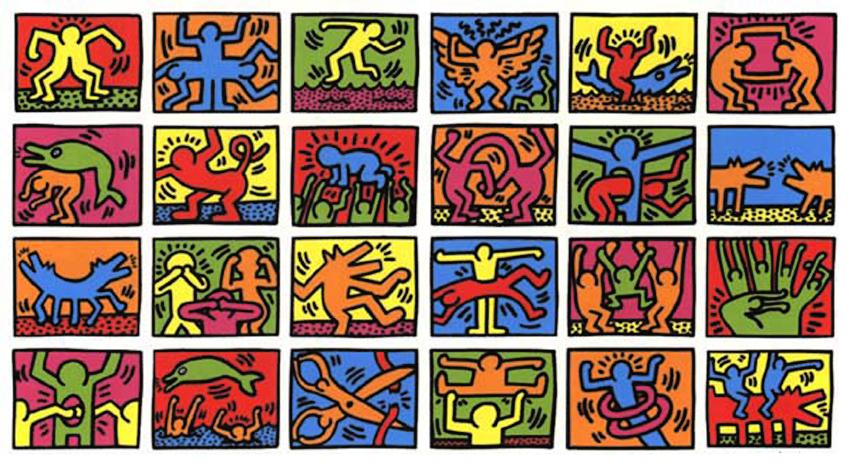 Célèbre Dinge en Goete (Things and Stuff): Keith Haring: 1958 - 1990 AU27