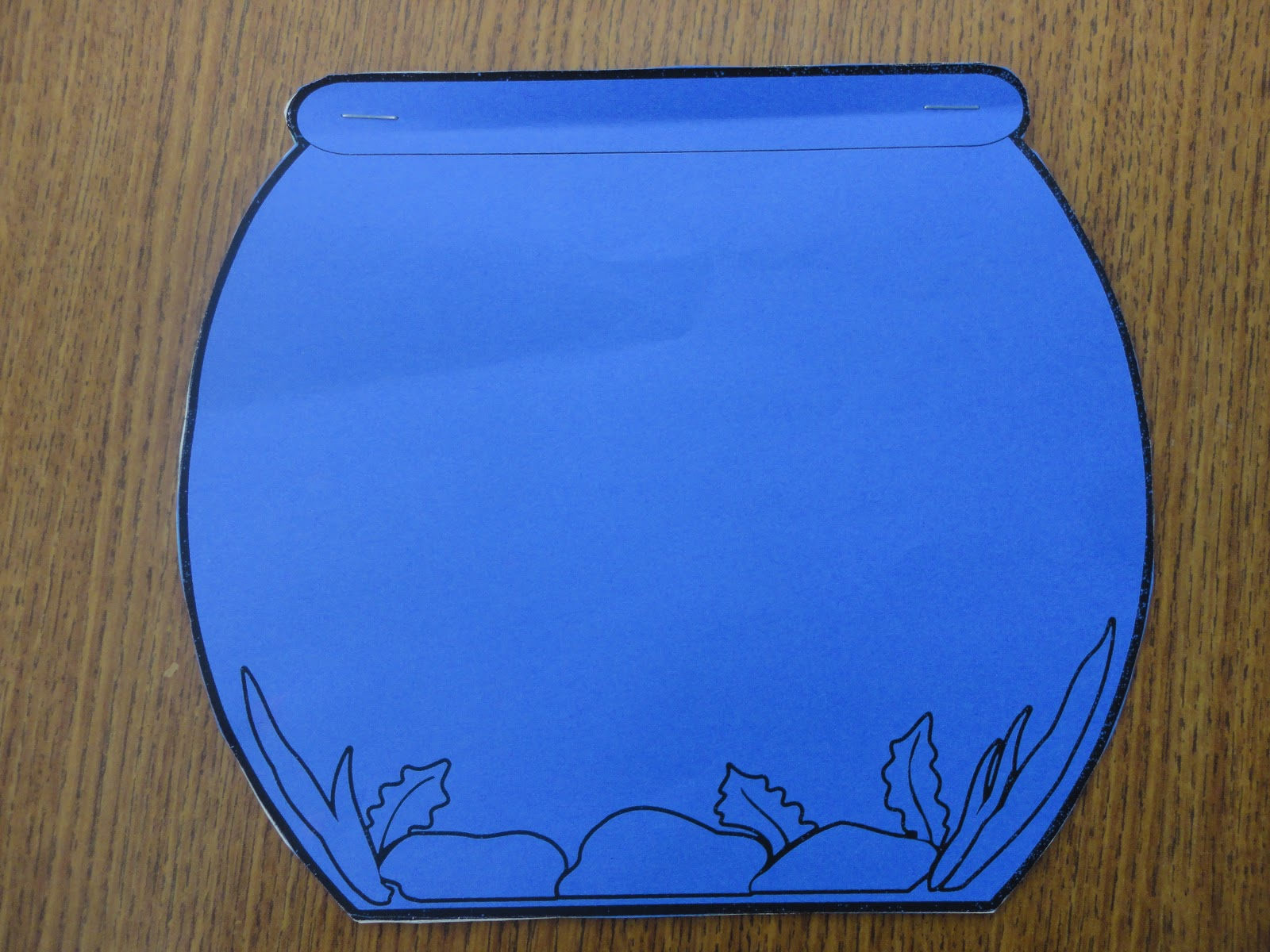 a very curious class: fish bowl writing, Powerpoint templates
