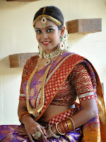 Chandini photos in south Indian bridal attire-cover-photo