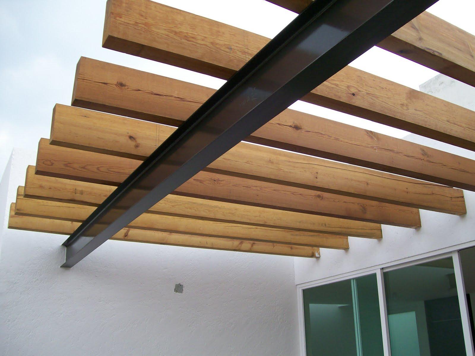 Marzua viga for Techos de madera para exterior