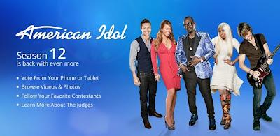 the American Idol app