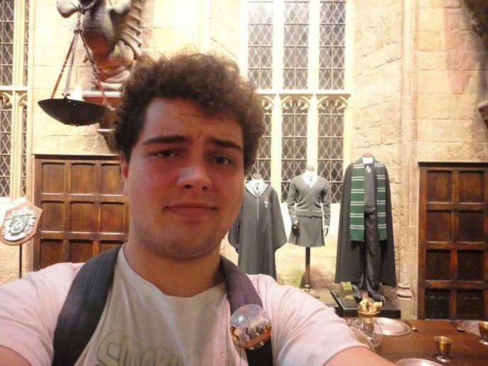 Figurinos da Sonserina - Visitando os Estúdios de Harry Potter em Londres