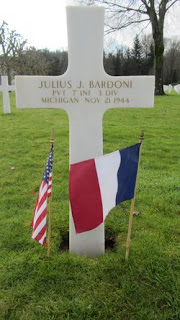 KIA Private Julius J. Bardoni WW2 Letters