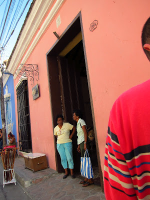 Santiago de Cuba warm colors and people