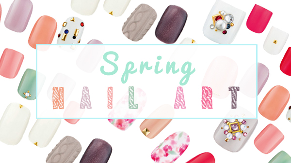 spring 2015 DIY nail art inspiration tutorial
