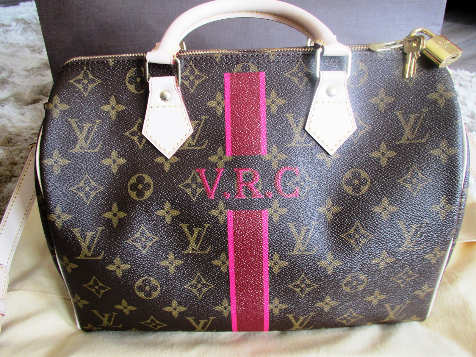 Louis Vuitton Speedy Personalizado