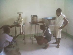 MICRO INDUSTRIA es instalada en San Tomé Príncipe – África