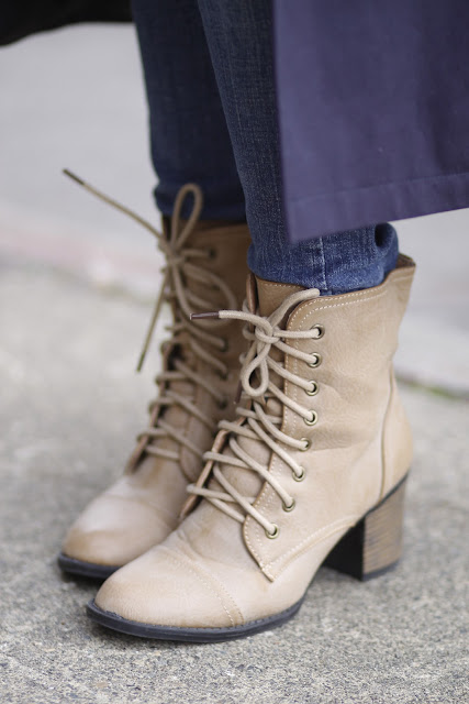 Joy Brand lace up boots seattle street style fashion it's my darlin'