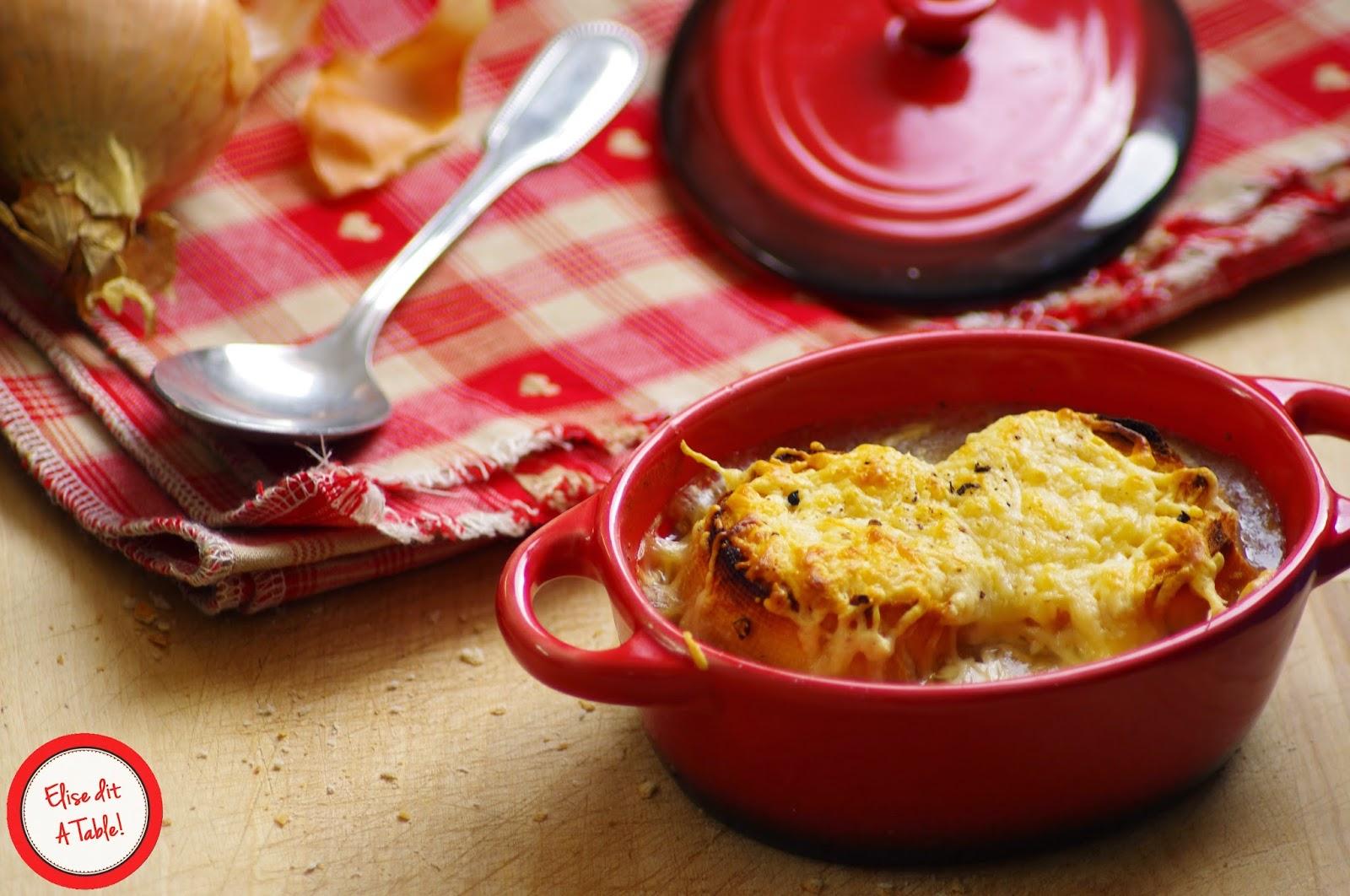 recette soupe l 39 oignon gratin e blog cuisine. Black Bedroom Furniture Sets. Home Design Ideas