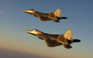 Golden Jet Fighter Sky Morning HD Wallpaper