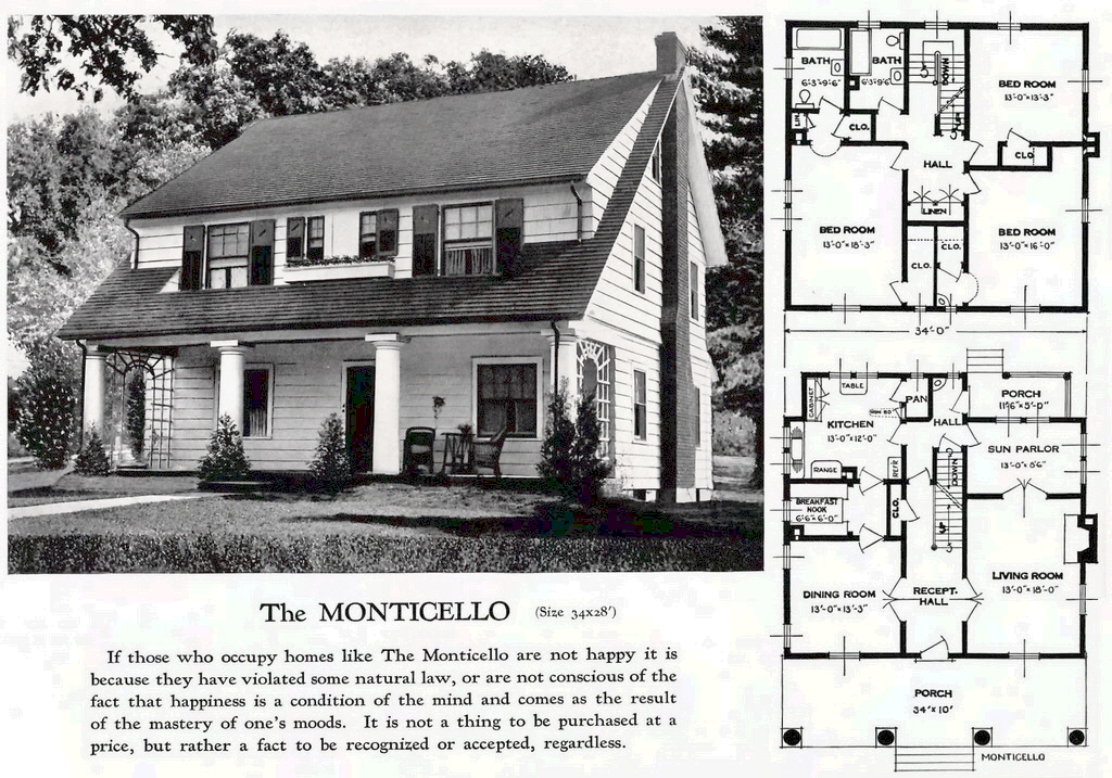 The monticello from standard homes company for Standard home plans