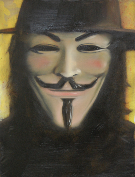 Paintings in movies  V for Vendetta