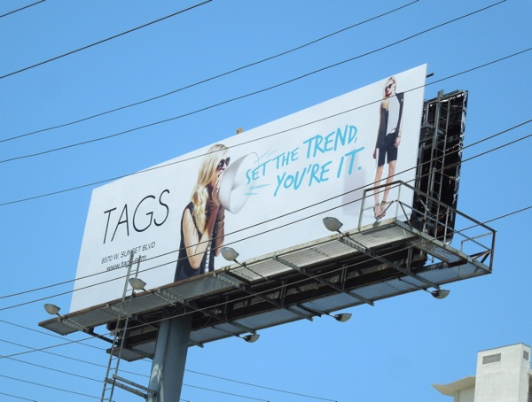 Tags Set the trend billboard