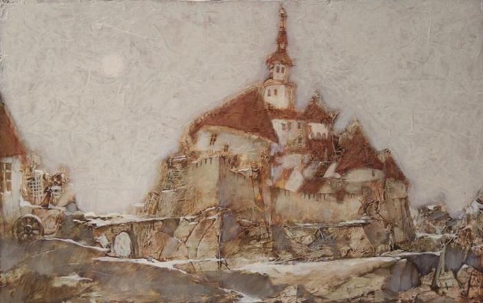 Alexander Zavarin 1954 | Russian Landscape painter