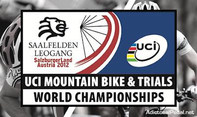 CICLISMO-Mundial de ciclismo de montaña y trial Saalfelden 2012