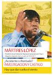 ¡Justicia por Mártires López!