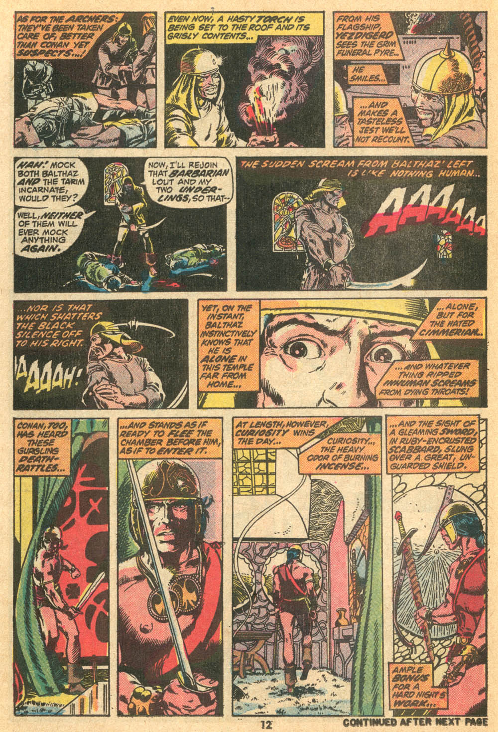 Conan the Barbarian (1970) Issue #20 #32 - English 10