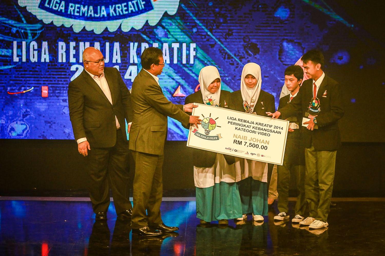 SMK Kuhara Sabah Tempat Kedua Liga Remaja Kreatif 2014
