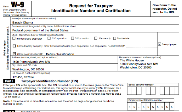 2014 Tax W 9 Form Download Fillable Form | PDF Library