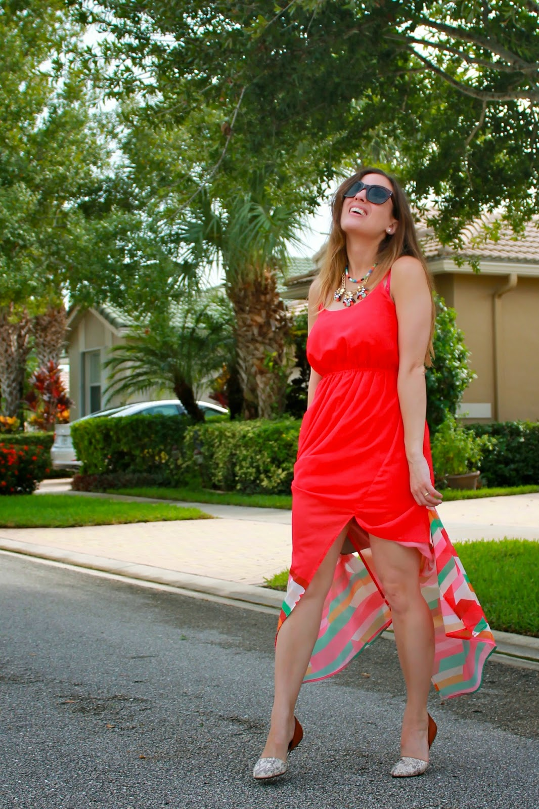 Nordstrom, J.Crew, T.J. Maxx, LF Stores, maxi dress, what i wore, ootd, miami blogger, Miami fashion blogger, blogger style