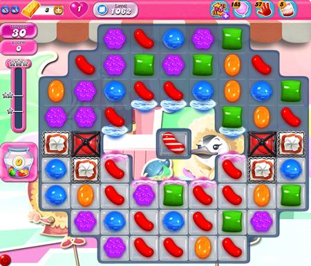 Candy Crush Saga 1062