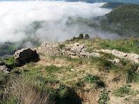 Murs de l'antic Castell de Gurb