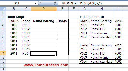 if vlookup