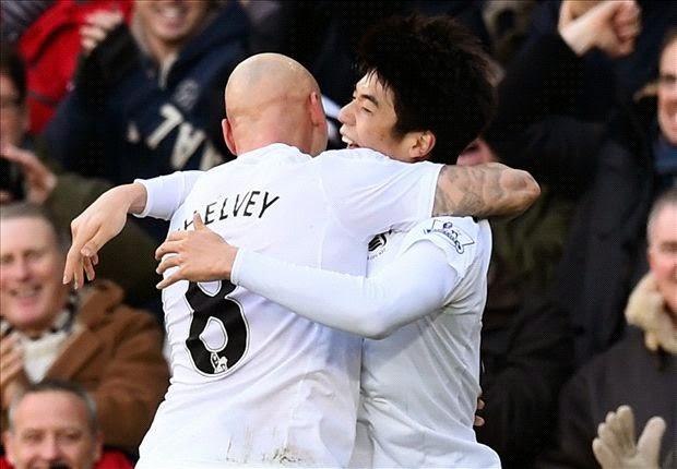 Hasil Liga Inggris Pekan ke-26 Swansea Vs MU 2-1