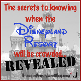 ... your guide to knowing whether the Disneyland Resort will be crowded